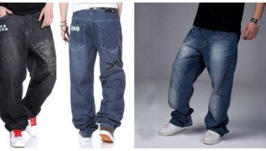 Jeans para hombres 2018- modelos anchos con costura