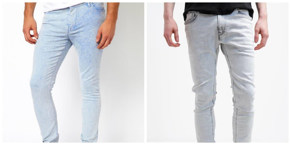 verano primavera para y colores de hombres 2018 Jeans wvXx04Cq4