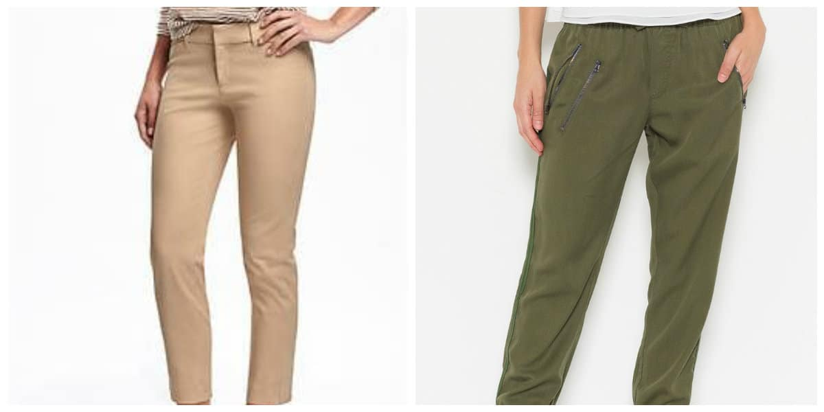 Moda femenina 2018- pantalones para mujeres que quieren lucir elegantes