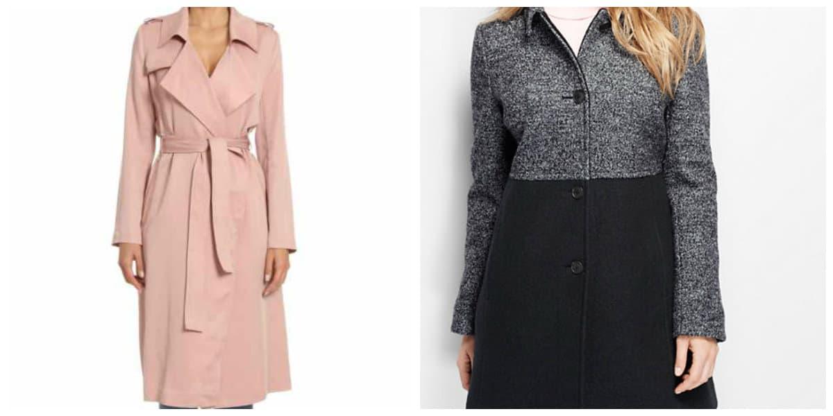 Moda femenina 2020- abrigos inusuales y de diferentes formas muy de moda