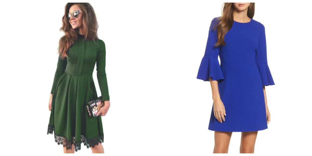 Moda femenina 2020- colores verde y azul tambien estan de moda