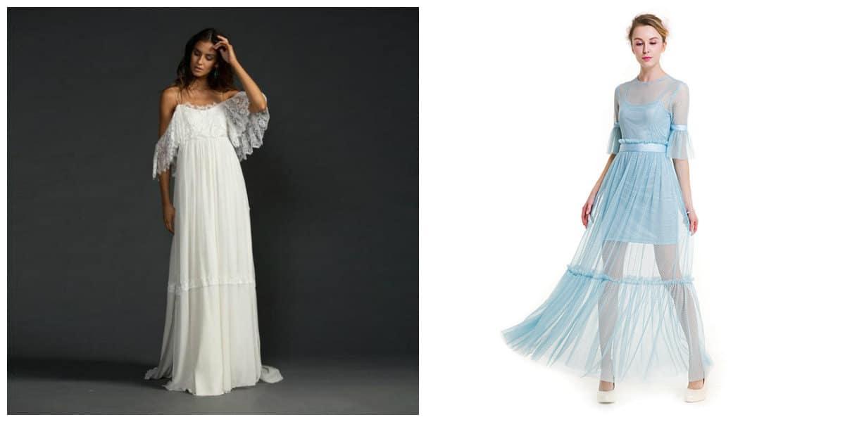 Moda femenina 2018- estilo antiguo griego se vuelve en tendencia