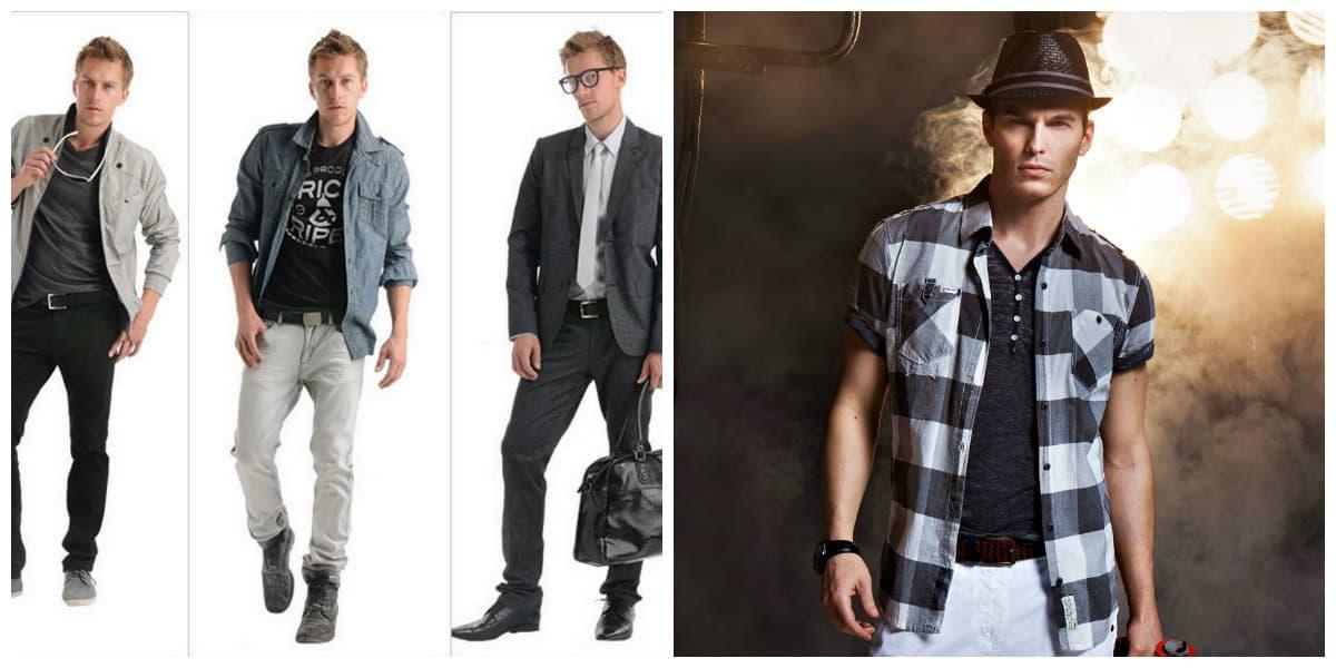 Moda masculina 2020- ropa de hombres en la tendencia