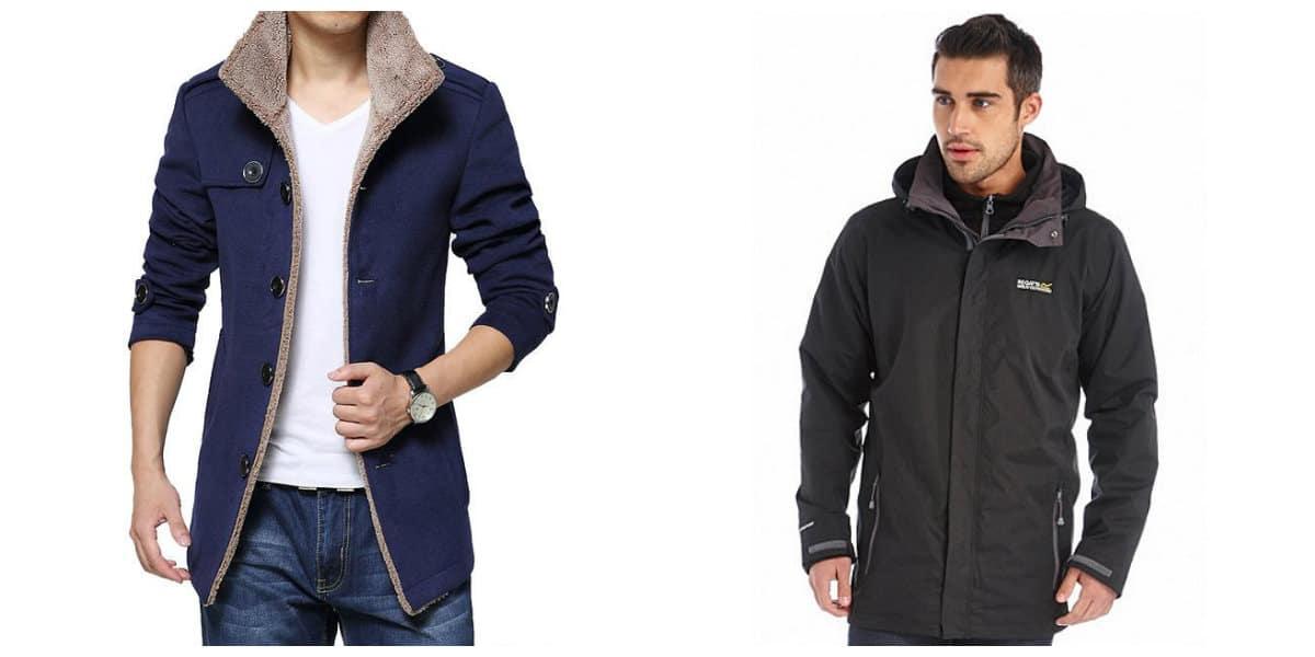 Moda masculina 2020- abrigos de plumas para hombres