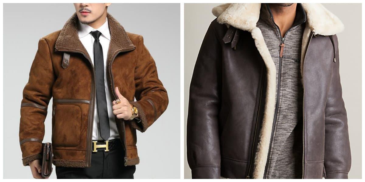 Moda masculina 2020- chaquetas de pieles de moda