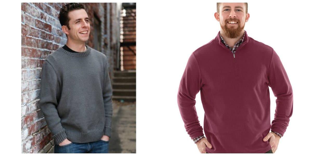 Moda masculina 2020- modelos de suetes de jersey de moda