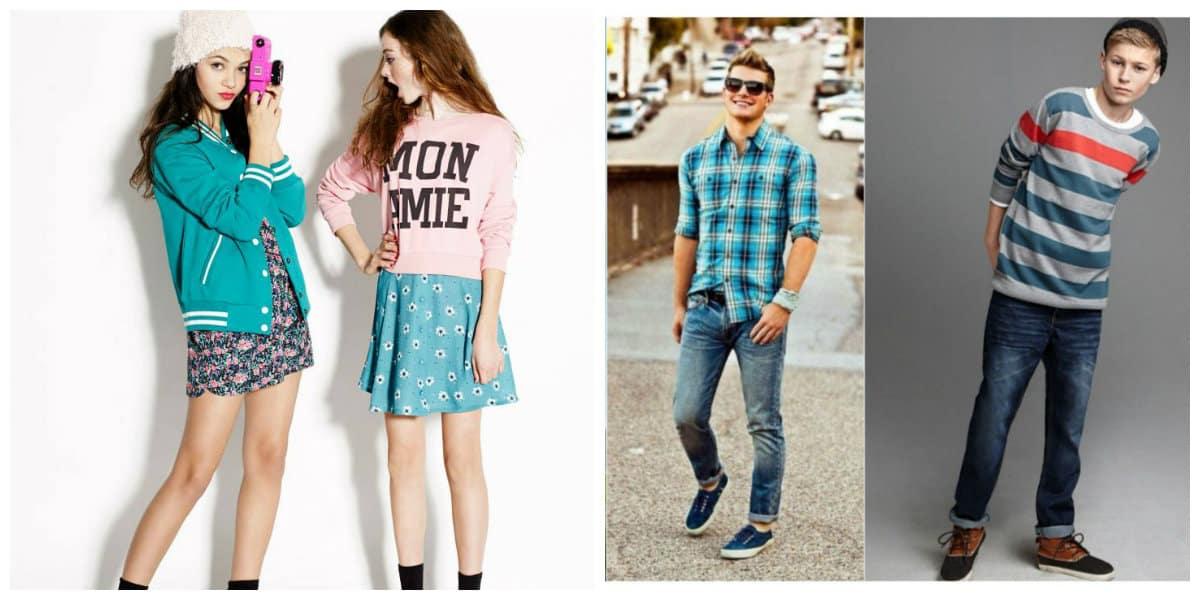 Estilistas, entendiendo perfectamente características de ropa de adolescentes, probadas en sus colecciones de moda de , satisfacen gran variedad de gustos en ropa, zapatos y accesorios para adolescentes para generación más joven de actualidad.