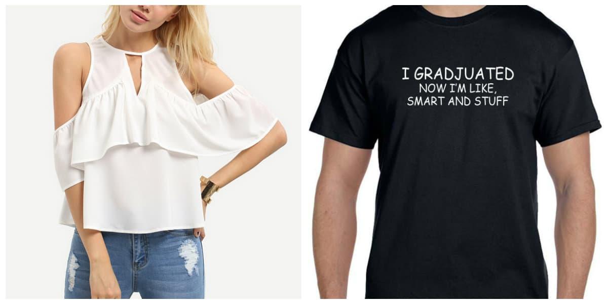 Moda para jovenes 2018- camisas y camisetas de moda