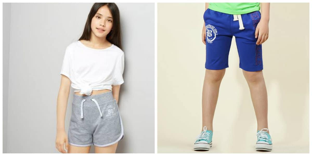Moda para jovenes 2018- pantalones cortos para el verano