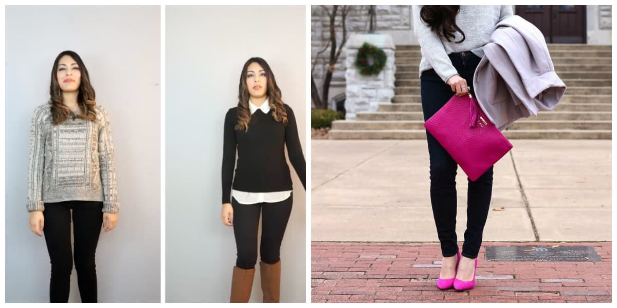 Pantalones de moda 2020- una pocion dificile de elegir contrastes