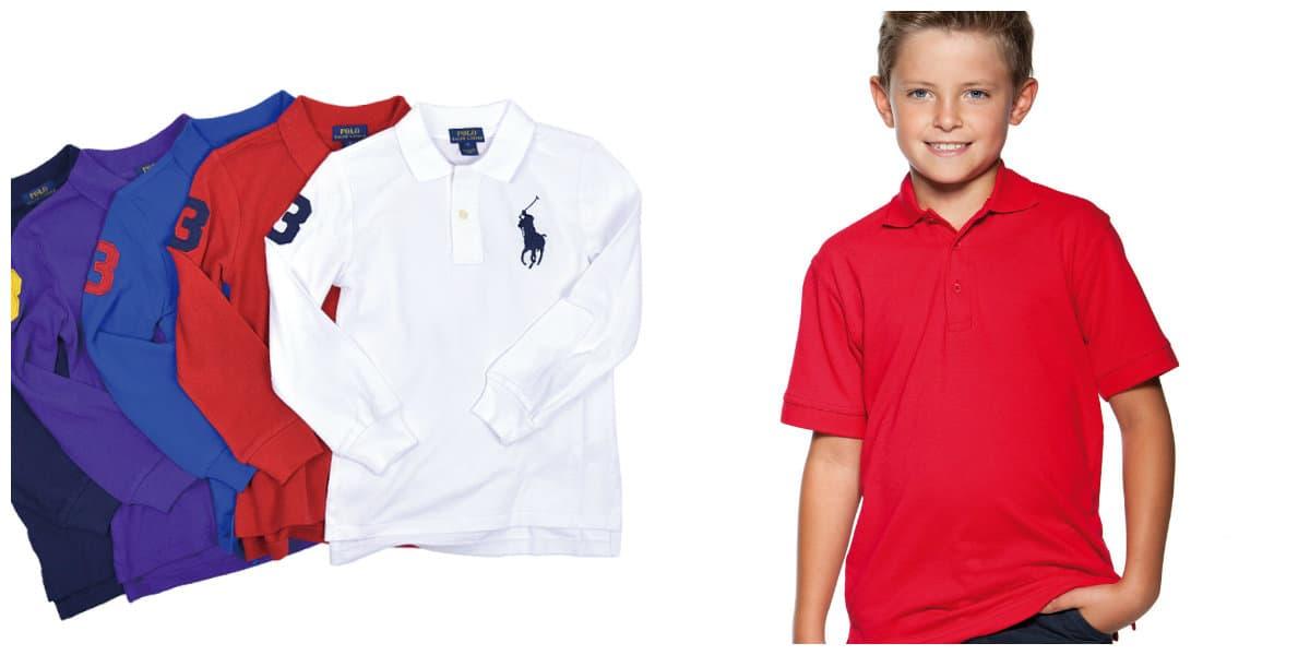 Ropa de chicos 2018- elegantes opciones de camisas Polo