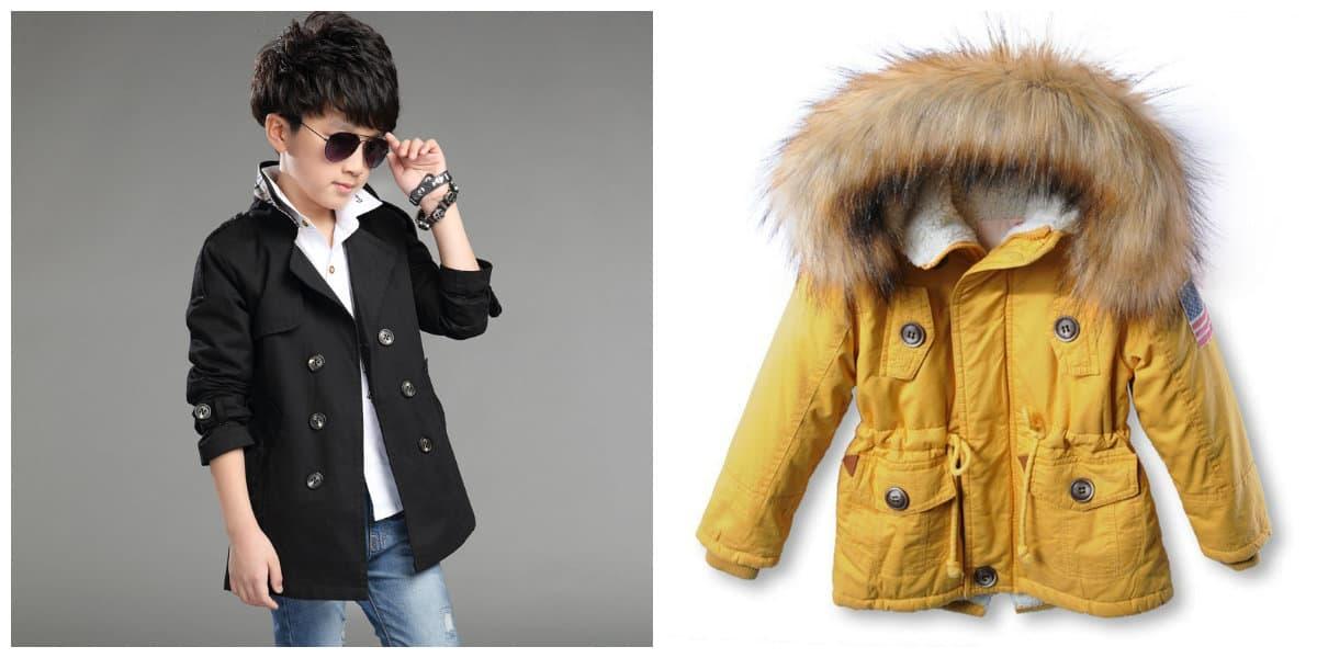 Ropa de chicos 2018- chaquetas y transformadores de chaquetas