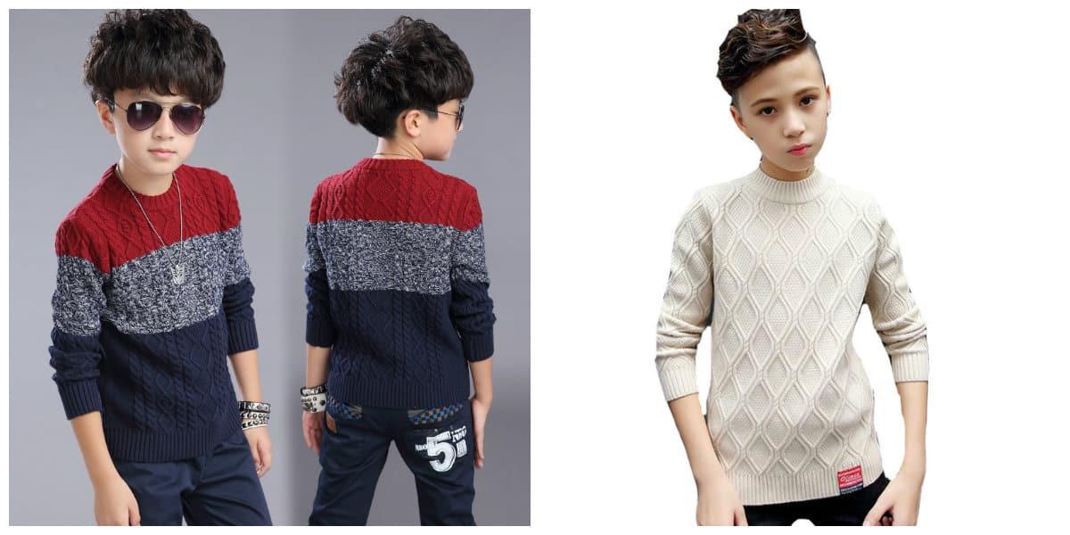 Ropa de chicos 2020- sueteres de moda para los ninos de moda
