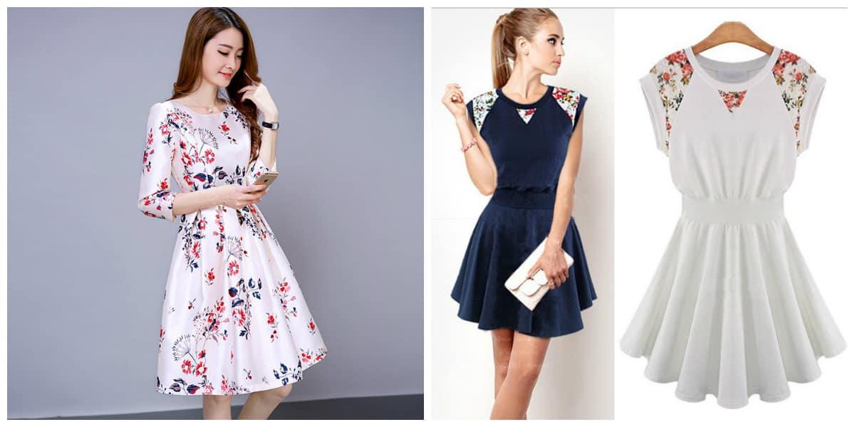 Tendencias de moda 2018- vestidos que se puede llevar diariamente