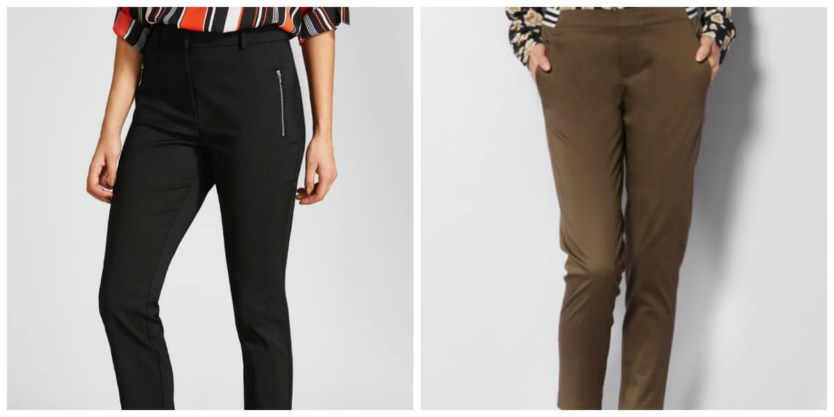 Tendencias de moda 2018- pantalones, parte necesario del vestuario