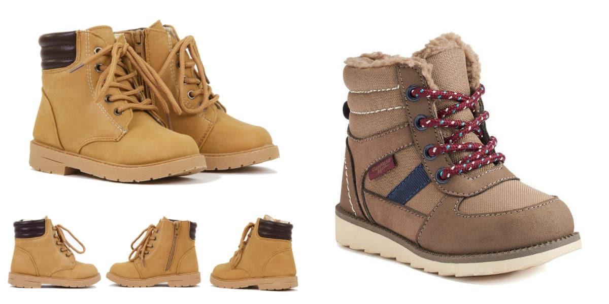 Zapatos para niños 2020- botas calientes para la temporada fria