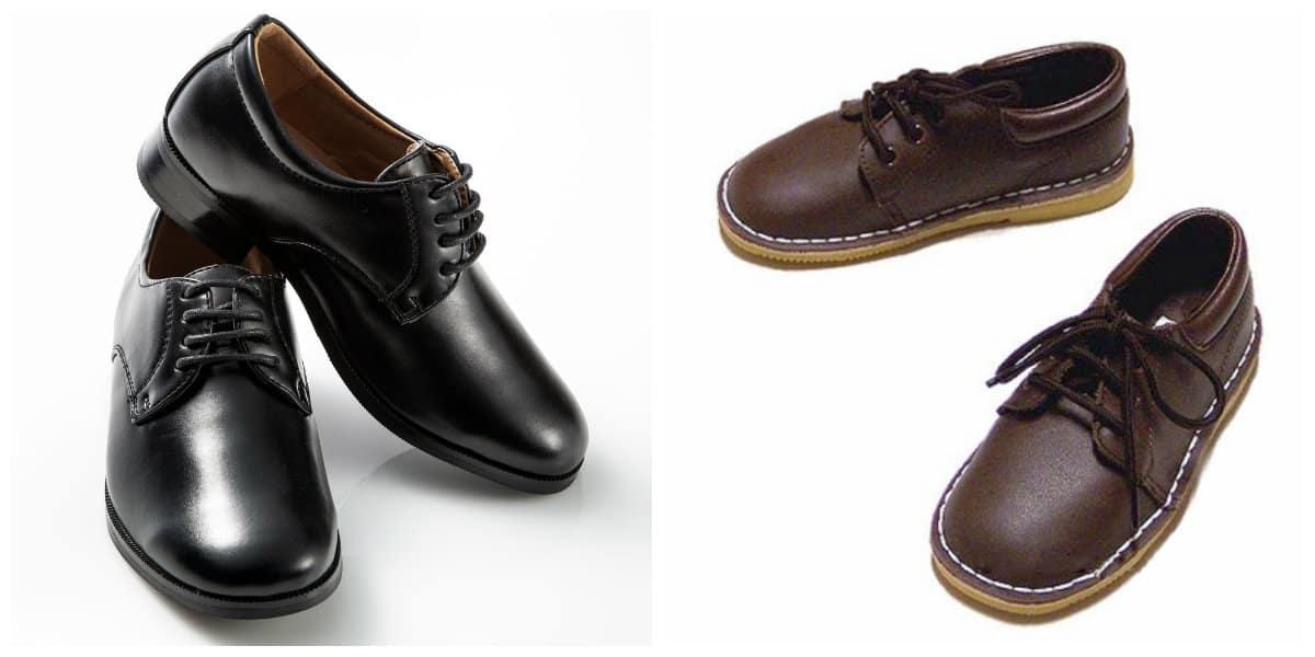 Zapatos para niños 2020- botas de cuero muy modernos y comodos