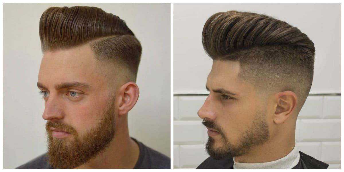 Corte de pelo pompadour- todas la tendencias nuevas