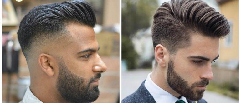Corte de pelo pompadour- moda masculina en tendencia