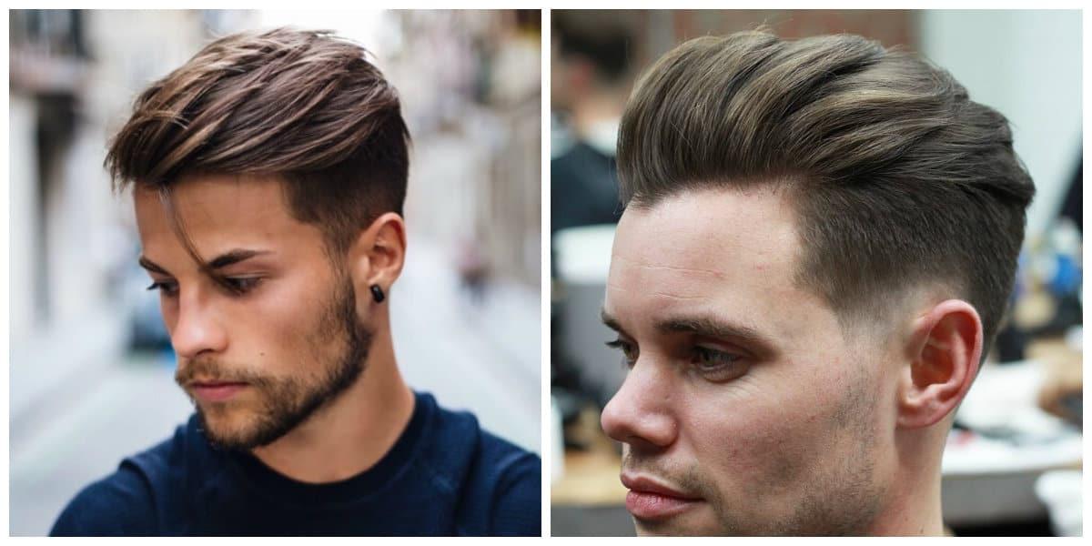 Corte de pelo pompadour- uso moderno de un estilo elegante