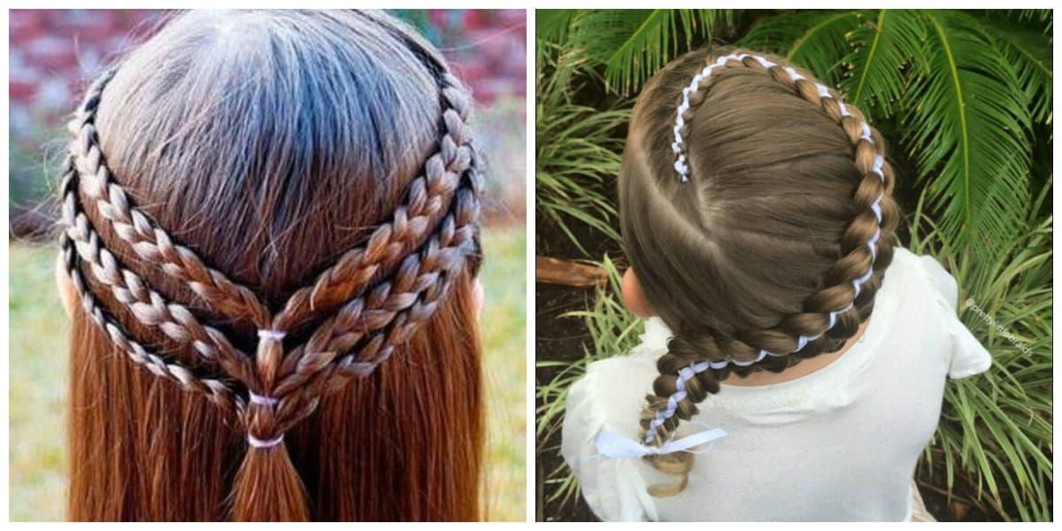 Peinados para niñas 2022-ideas bonitas para el pelo de tu hija
