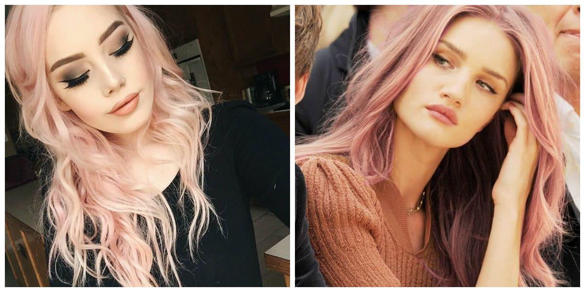 Arreglar el cabello- una combinacion de tres colores muy bonitas