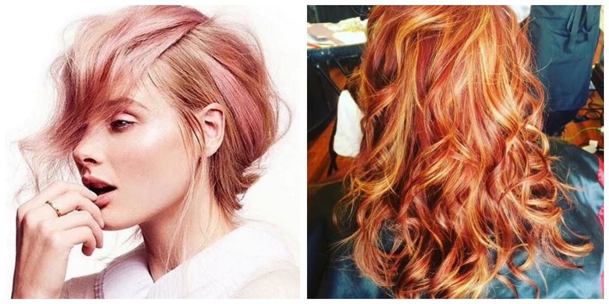 Arreglar el cabello- diversidad de tonalidades para las chicas modernas