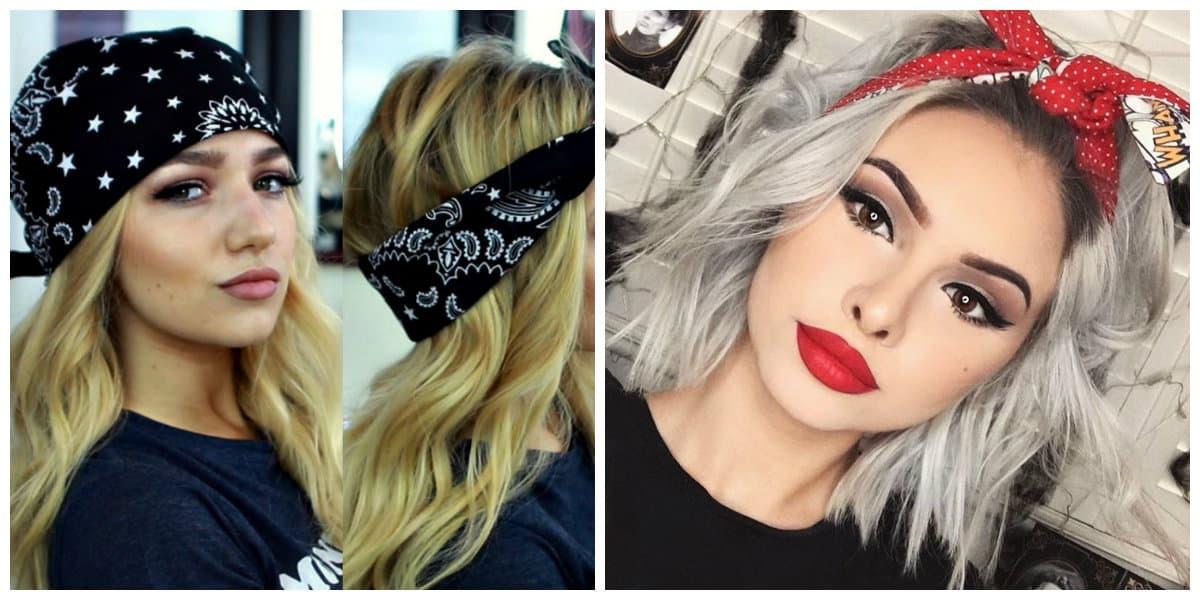 Bandanas para el pelo- todas las tendencias en un lugar