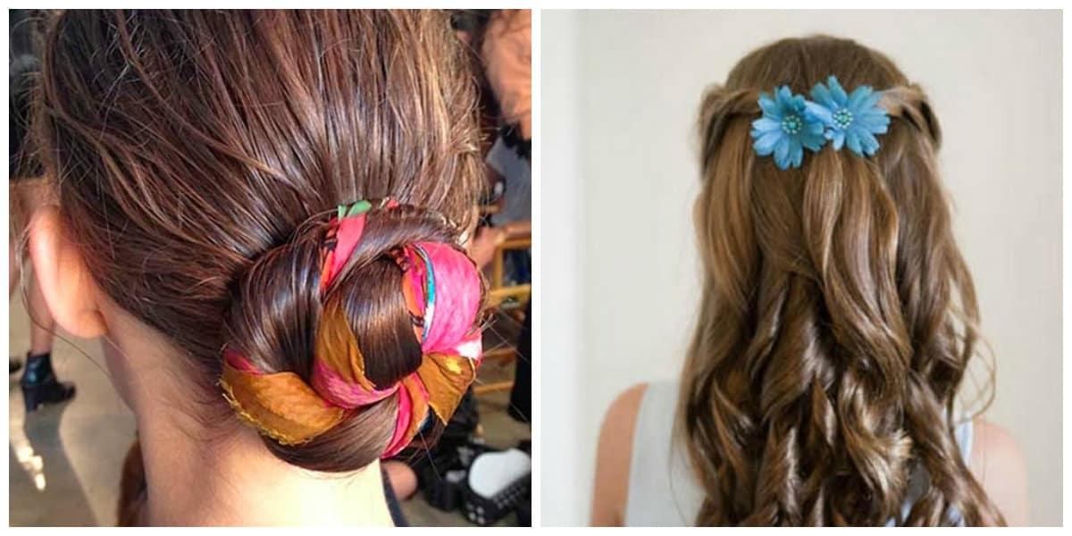 Cintas para el pelo- cintas de colores muy diversas y vivas