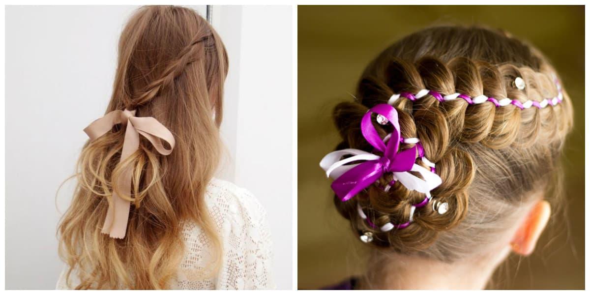 Cintas para el pelo- peinados modernos tambien para las ninas