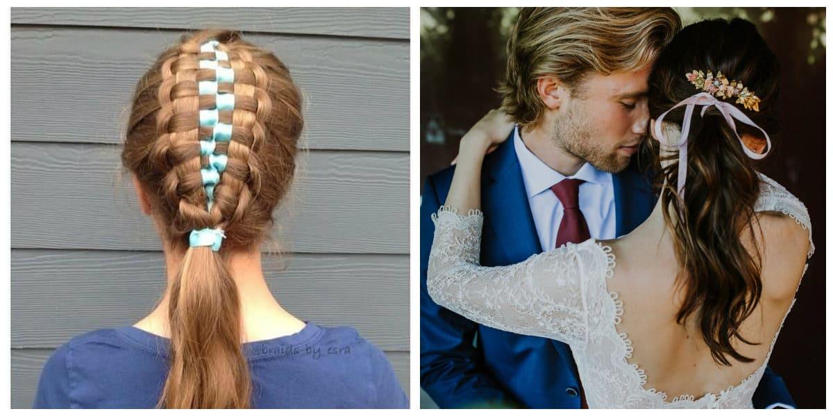Cintas para el pelo- interesantes acercamientos a los estilos nuevos