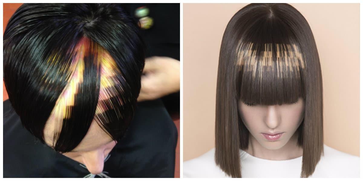 Color de pelo 2018- colores muy modernas para las amantes de moda