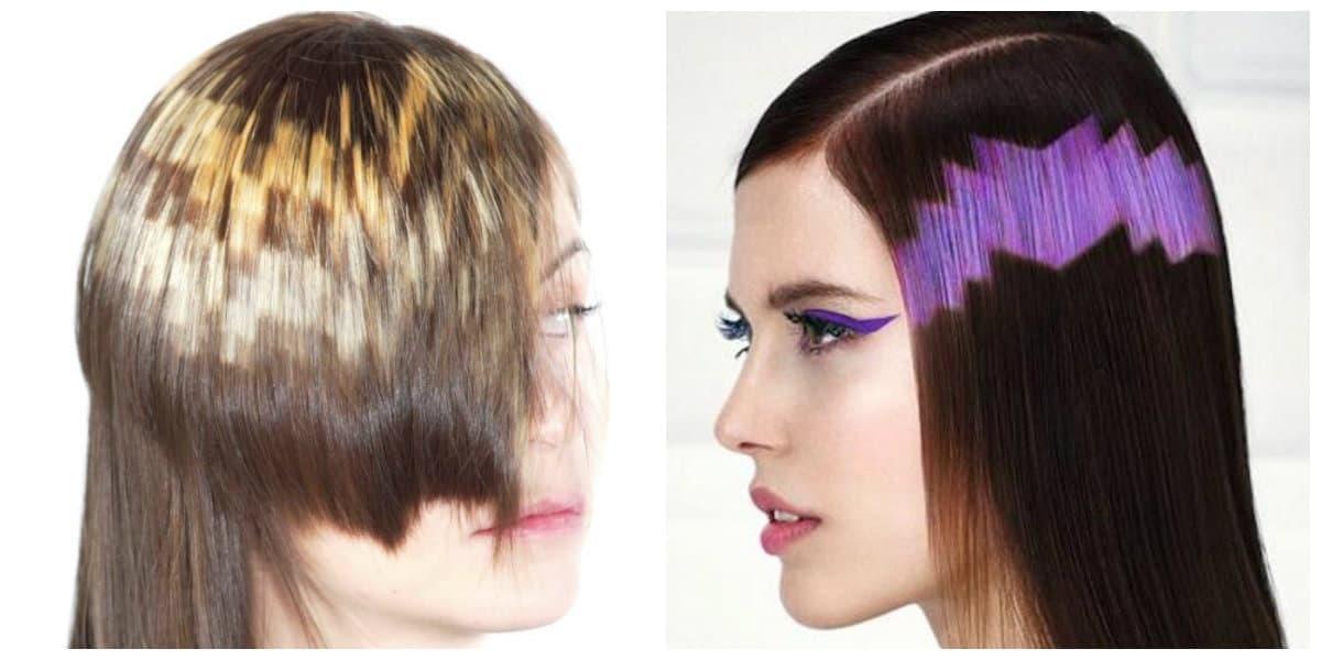 Color de pelo 2018- un corte de pelo muy atrevido para chicas bonitas
