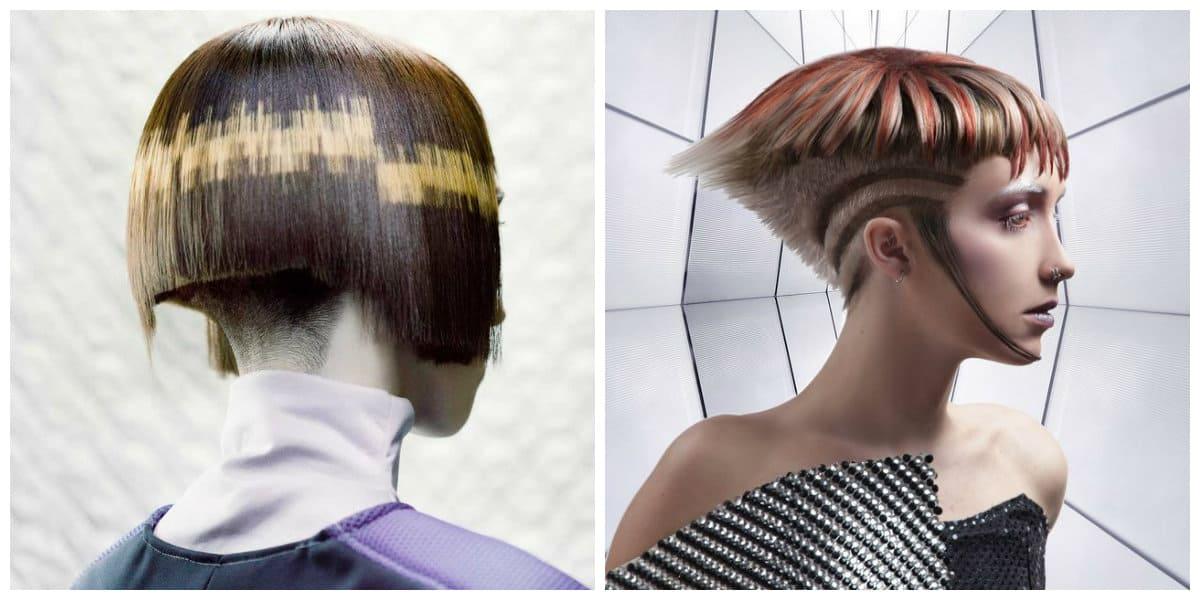 Color de pelo 2018- cortes de pelo muy modernas para las mas atrevidas
