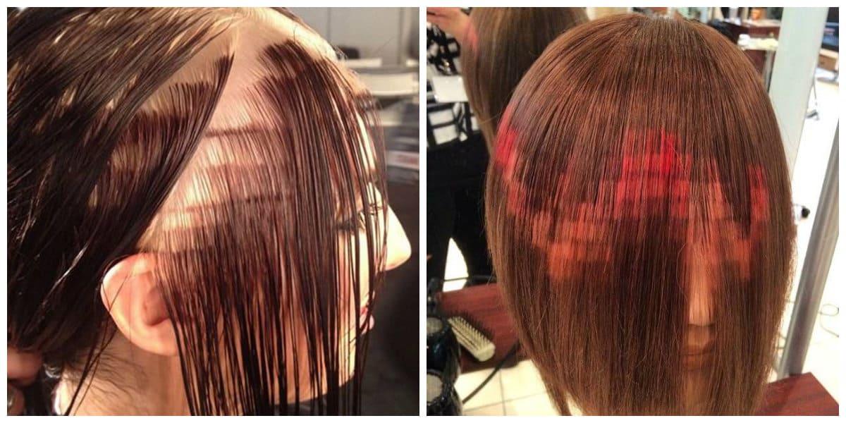 Color de pelo 2018- tecnica de la palicacion de pixel en pelo