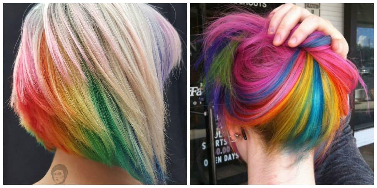 Color de pelo 2018- la combinacion de diferetnes colores en un lugar