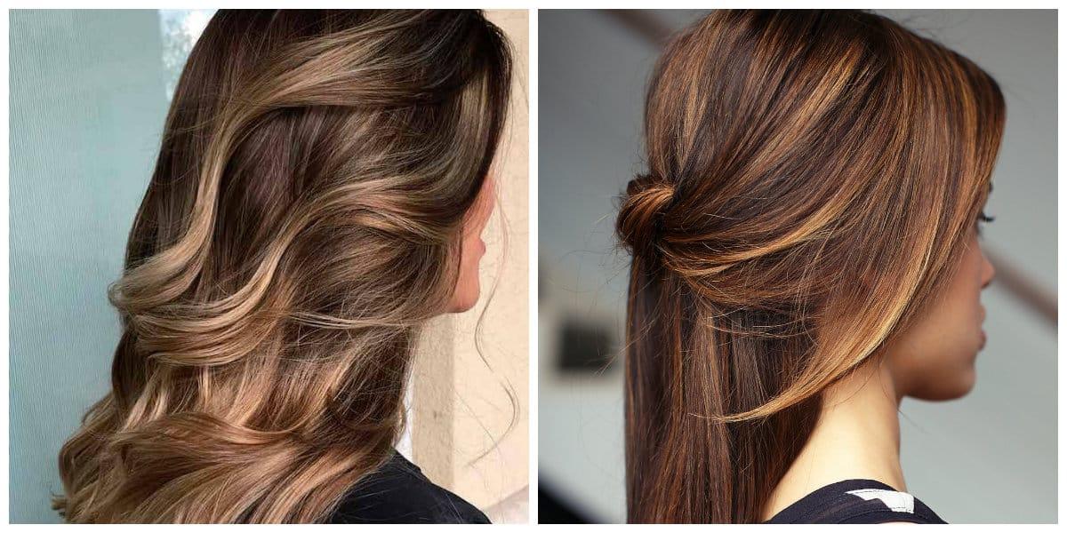 Color del cabello 2018- corrientes esenciales de pelo moderno