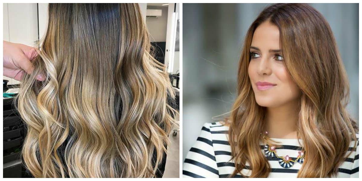 Color del cabello 2018- ojo de tigre como estilo unico y moderno