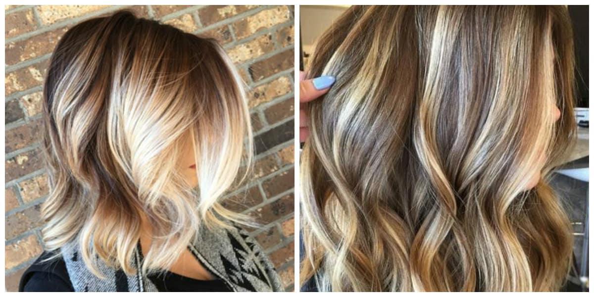 Color del cabello 2018- tonalidades del blanco en ojo de tigre