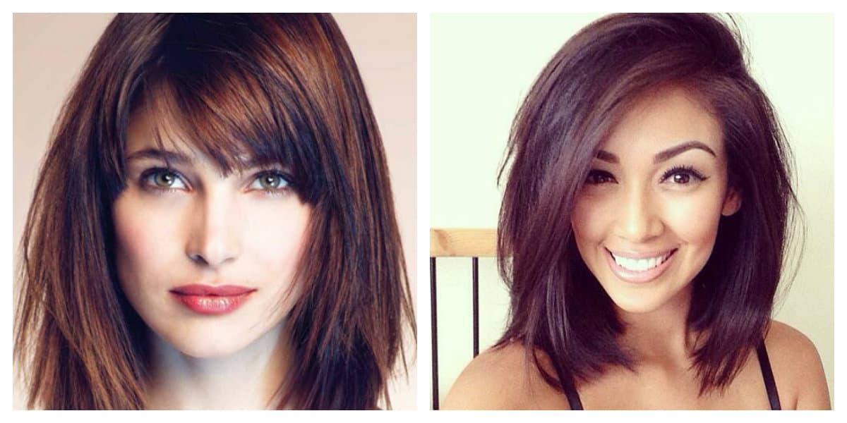 Corte de pelo cuadrado- todas las tendencias actuales en un lugar