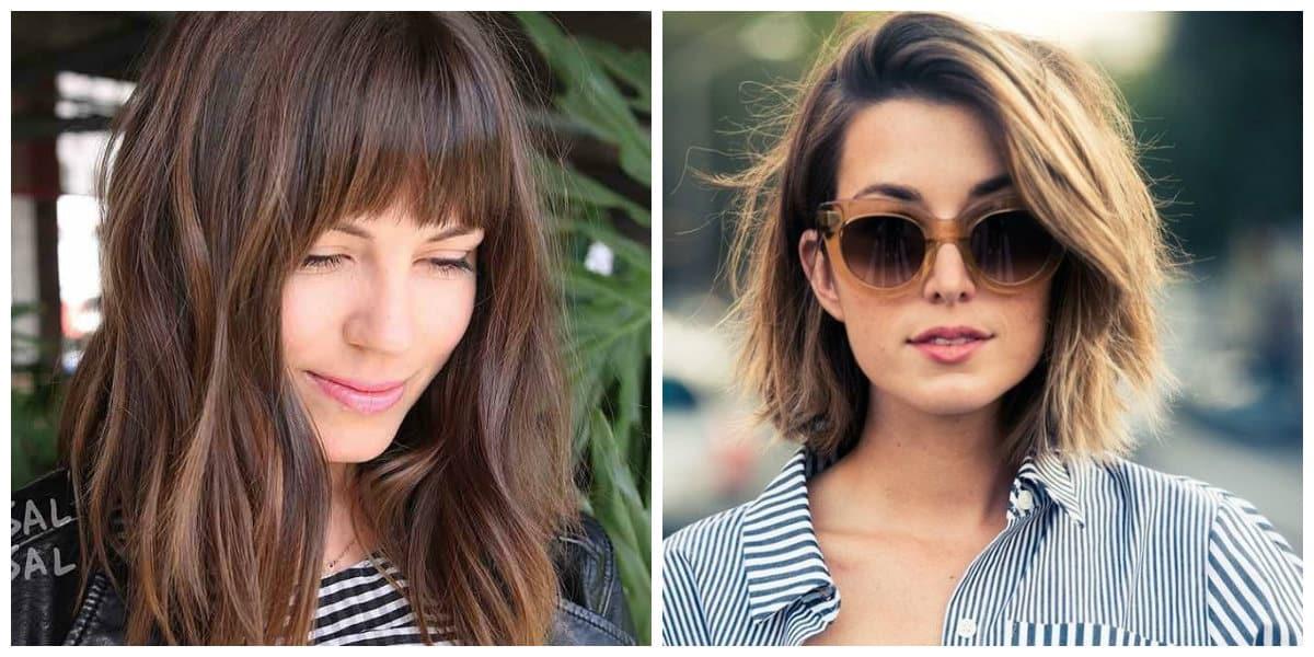 Corte de pelo cuadrado- ideas para cara cuadradas de moda