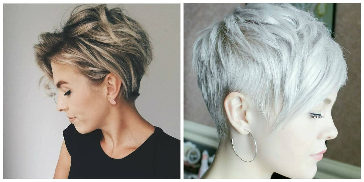 Corte de pelo pixie- tonalidades de pelo con corte pixie