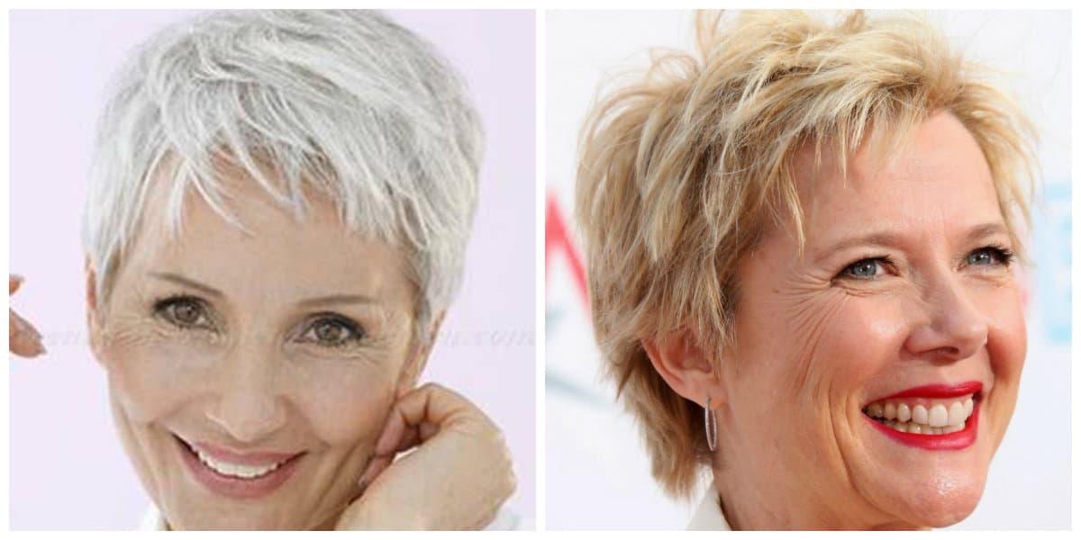 Corte de pelo pixie- muy usado entre las mujeres mayores 50