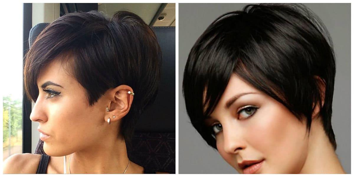 Corte de pelo pixie- colores oscuros para chicas modernas