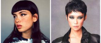 Cortes con flequillo- peinados que van mejor con el maquillaje de moda
