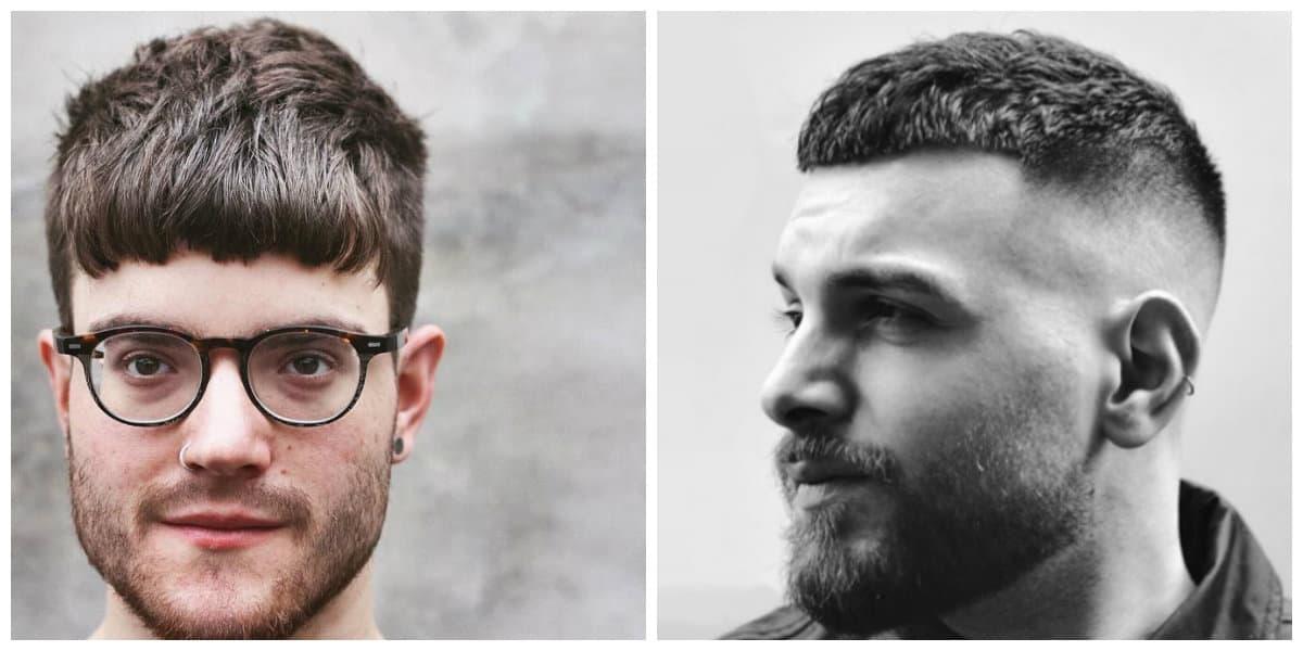 Cortes de pelo para hombres 2020- cosecha francesa de moda