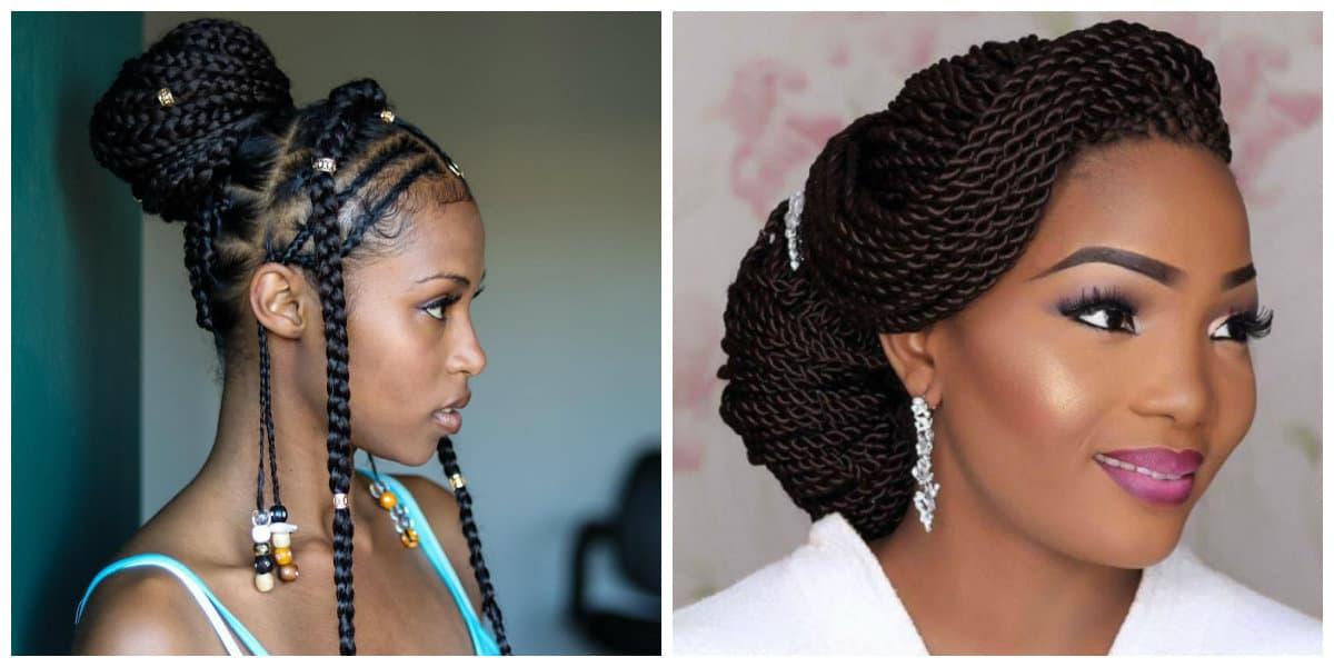 Peinados con trenzas africanas- tendencis principlaes de moda