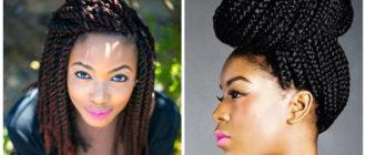 Peinados con trenzas africanas- peinados de ifesta de moda
