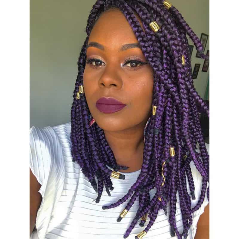 Sencillo y bonito peinados con trenzas africanas Imagen de cortes de pelo tutoriales - Peinados con trenzas africanas: Estilos de moda para ...