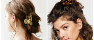Peinados cotidianos- con la ayuda de diferentes cosas se arreglan los pelos
